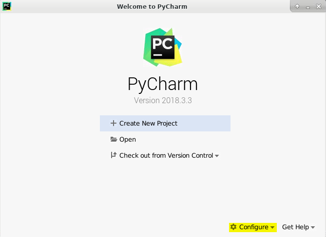 Setting up PyCharm on your userVM | PROBA-V Mission